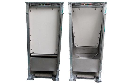 Compufeeder automatic trough shutter